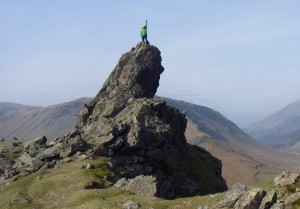 Jon Ginesi of Adventure Guides UK on Helm Crag