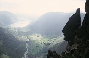 Indian Face on Great Gable, on the Cumbrian Crocodile Walk