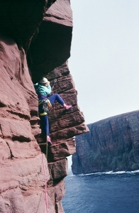 Climbing the classic Old Man of Hoy